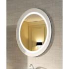 Зеркало с подсветкой 79 см белое Edelform Миларита 90