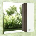 Зеркало со шкафчиком 80 см венге белый Comforty Рио 80 зер. вен.