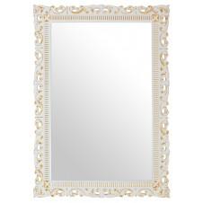 Зеркало 100/70 см белый золото Pragmatika М-725-02