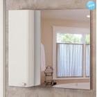 Зеркало со шкафчиком 100 см белый Comforty Неаполь-100 зер.бел.