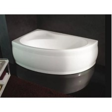 Ванна акриловая асимметричная правая 1550*1000 Kolpasan Romeo-D 155