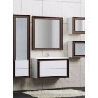 Комплект мебели Opadiris Капри 80 Белый глянцевый/Орех антикварный