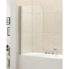 Душевая шторка на ванну поворотная 80 см Cezares Eco ECO-O-V-1-80/140-C-Cr