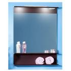Зеркало с подсветкой 70 см венге Бриклаер Чили 70