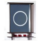Зеркало с подсветкой 65 см венге Бриклаер Хоккайдо 65
