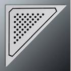 Решетка для душевого трапа Nicol GSITRIANS N13392