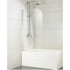 Душевая шторка на ванну распашная 70 см Bravat Alfa BG070.5110A-1