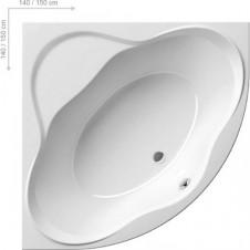 Ванна акриловая угловая 1500*1500 мм Ravak NewDay 150