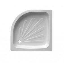 Душевой поддон полукруг стальной 800*800 loranto CS00020724
