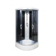 Душевая кабина 900*900 Водный мир ВМ-8825 тонированная 90