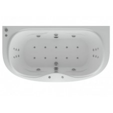 Ванна акриловая прямоугольная 1800*950 Aquatek Мелисса180