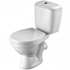 Унитаз напольный с бачком и сиденьем Santek Паллада 2-реж., сид. полипропилен 1WH302371