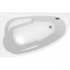 Ванна акриловая асимметричная левая 1600*950 Cersanit Joanna 160L