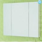 Шкаф зеркальный белый 80 см Comforty Римини 80 шк. бел.