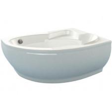 Ванна мраморная асимметричная левая 1490*1015 Esse Flores L