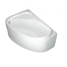 Ванна акриловая асимметричная левая 1500*1000 Domani-Spa Flora L DS02Fl150L