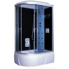 Душевая кабина 1200*800 Aquacubic 3106A R grey black