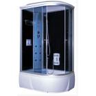 Душевая кабина 1200*800 Aquacubic 3106A L grey black