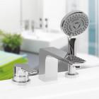 Смеситель встраиваемый на ванну на 3 отв. Vega Mood 91A3015022