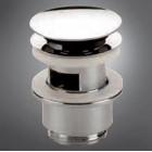 Донный клапан с переливом для умывальника механизм click/clack Nicol 0501084