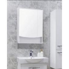 Шкаф зеркальный с подсветкой белый 65 см Акватон Инфинити 1A197002IF010