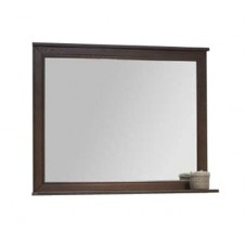 Зеркало 105 см Акватон дуб шоколад Идель 1A197902IDM80