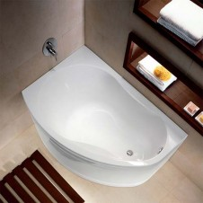Ванна акриловая асимметричная левая на ножках 1500*1000 Ifo Rattvik BA20150100