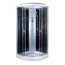 Душевая кабина 900*900 Aquapulse 4122D grey black