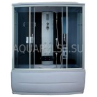 Душевая кабина 1500*850 Aquapulse 7807 grey black
