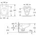 Унитаз подвесной с сиденьем микролифт Iddis Neofix R NEORDSEi25