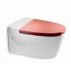 Унитаз подвесной с сиденьем микролифт Roca Khroma красный 346657000 + 801652F3T