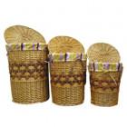 Набор корзин плетеных 3 шт Comforty LU-6002 S3
