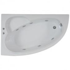 Ванна акриловая асимметричная левая 1600*1000 Bas Сагра