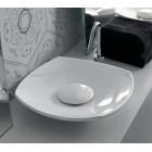 Раковина накладная 45 см Hidra Ceramica Lavabi A20 + A45