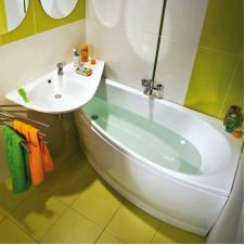Ванна акриловая асимметричная правая 1600*750 мм Ravak Avocado 160 R