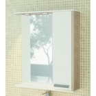 Зеркало со шкафчиком и подсветкой 75 см сосна Comforty Тулуза 75 зер.сосна