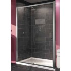 Душевая дверь раздвижная 2-х секционная 100 см Huppe X1 120401.069.321