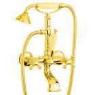 Смеситель на ванну золото Bugnatese Revival BN.REV-402.DO