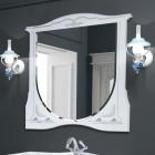 Зеркало с подсветкой 100 см состаренное серебро Edelform Луиза 2-656-31-S