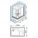 Душевая кабина 1200*800 Appollo TS-41W