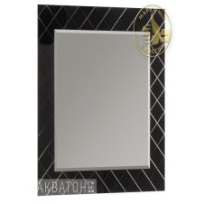 Зеркало 65 см черное Акватон Венеция 1553-2.L2