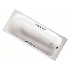 Ванна чугунная 1700*700 с ручками Jacob Delafon Melanie E2925-00 + E75114-CP