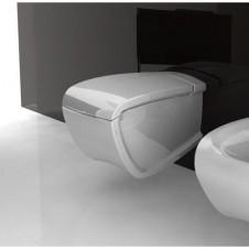 Унтитаз подвесной с крышкой микролифт Hidra Ceramica Hi-Line HIW10 + HIZ