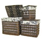 Набор корзин плетеных 3 шт Comforty LU-6527 S3