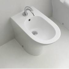 Биде напольное Kerasan Aquatech 3720+7614