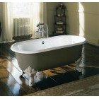 Ванна чугунная 1750*800 с ножками и сливом Jacob Delafon Cleo E2901-00+E4010-NF+E7807-CP