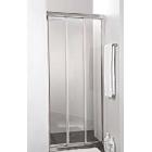 Душевая дверь раздвижная 3-х секционная 120 см Cezares FAMILY-BF-3-120-P-Cr