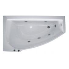 Ванна акриловая асимметричная правая 1400*850 Bellrado Мэги