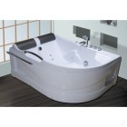 Ванна акриловая c гидромассажем 1700*1200 Comfortu АХ-8080 левая