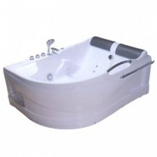 Ванна акриловая c гидромассажем 1700*1200 Comfortu АХ-8080 правая